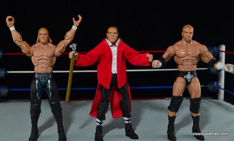Hunter Hearst Helmsley WWE Network Spotlight figure -DX Triple H, modern Triple H
