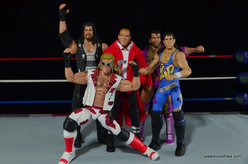 Hunter Hearst Helmsley WWE Network Spotlight figure -The Kliq