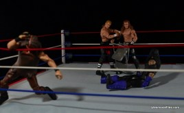 Hunter Hearst Helmsley WWE Network Spotlight figure -formation of DX against Undertaker and Mankind