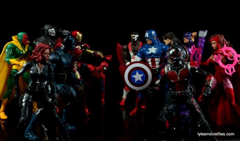 Iron Man Mark 43 Comicave Studios Omni Class Scale figure - Civil War Team Cap vs Team Iron Man'