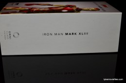 Iron Man Mark 43 Comicave Studios Omni Class Scale figure - side package