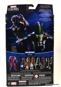 Marvel Legends Whirlwind figure review -back package