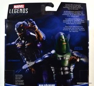 Marvel Legends Whirlwind figure review -bio