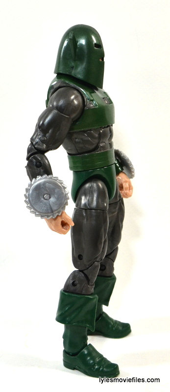 Marvel Legends Whirlwind figure review -right side