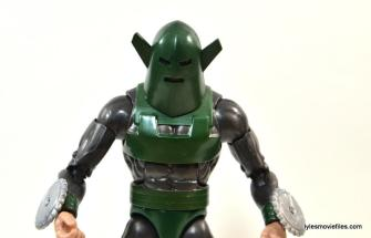 Marvel Legends Whirlwind figure review -wide pic