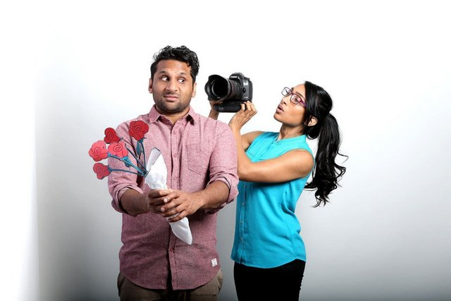 Meet the Patels - Ravi and Geeta Patel