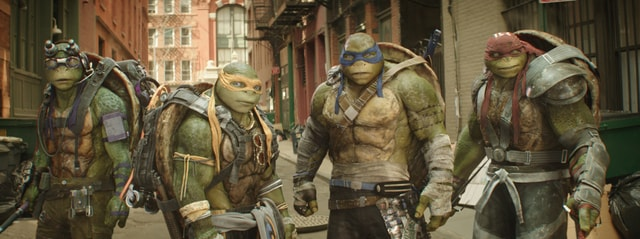 Teenage Mutant Ninja Turtles Out of the Shadows - Don, Leo, Mikey and Raph-min