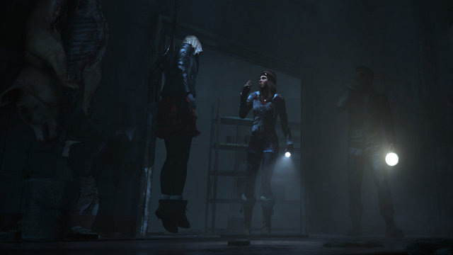 Until Dawn review - Ashley and Chris