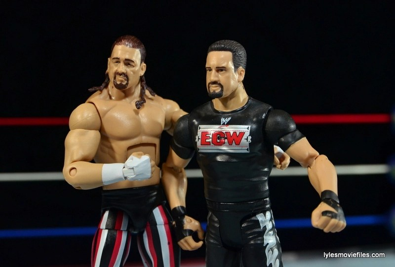 WWE Elite 41 Terry Funk figure review - Funk with Tommy Dreamer