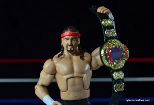 WWE Elite 41 Terry Funk figure review -raising ECW title