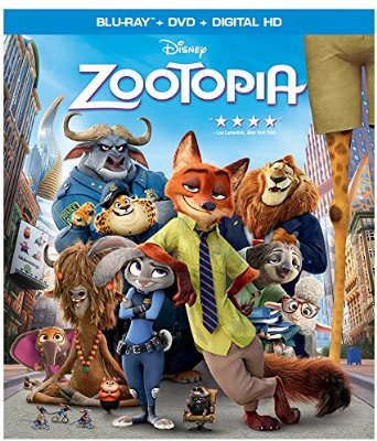Zootopia blu ray cover