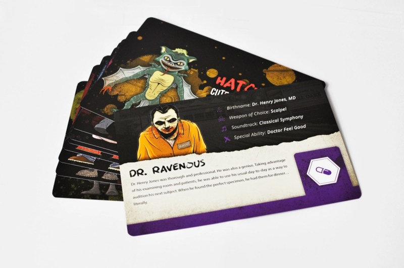 mixtape massacre character cards 1