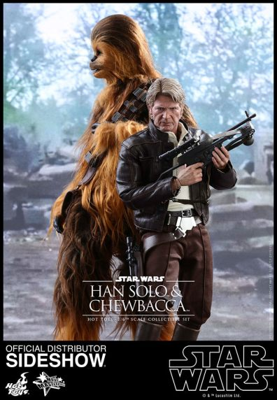 star-wars-the-force-awakens-han-and-chewbacca-sixth-scale-set-hot-toys-at the temple