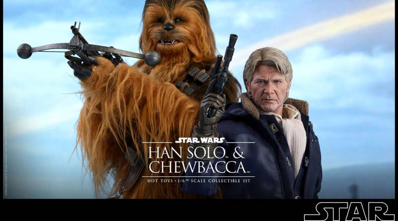 star-wars-the-force-awakens-han-and-chewbacca-sixth-scale-set-hot-toys-main image