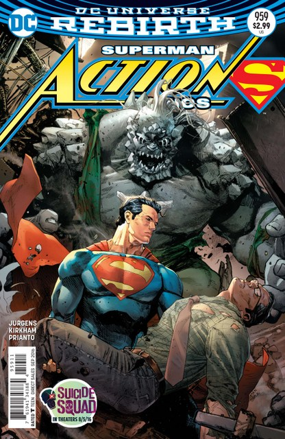 Action Comics issue 959 review cover