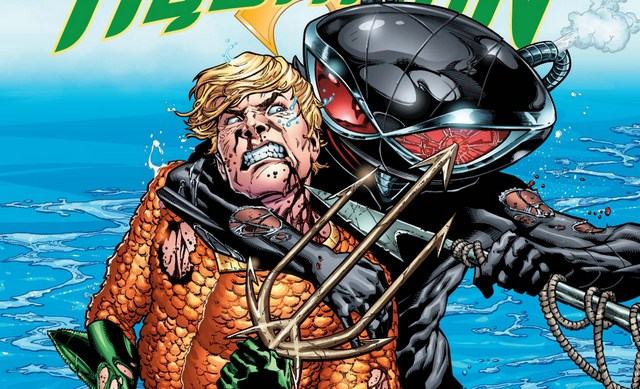 Aquaman issue 2 review The Drowning - cover
