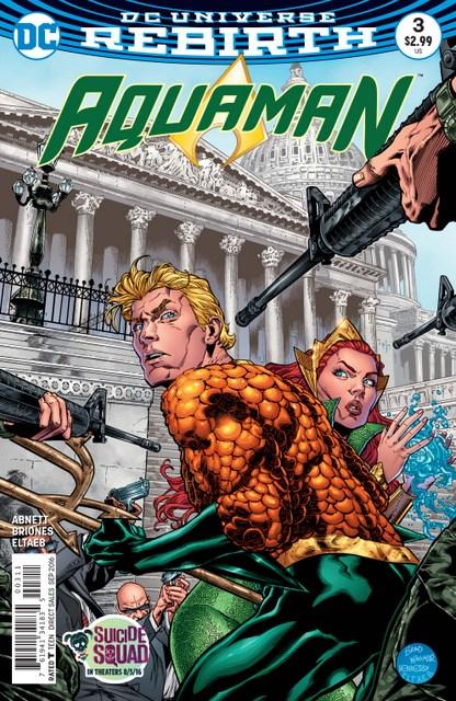 Aquaman issue 3 cover