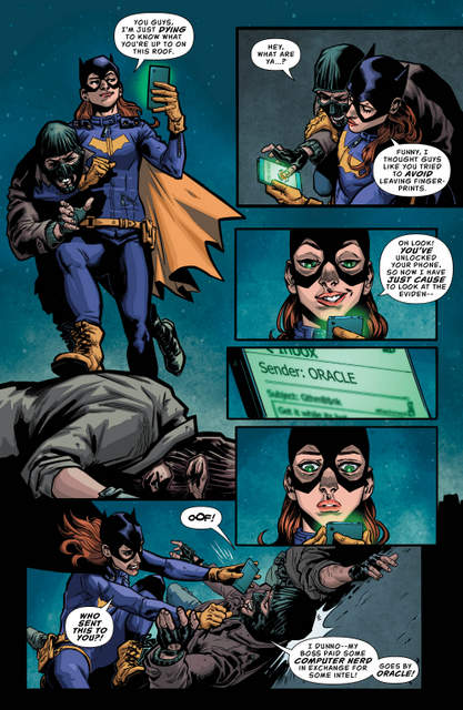 Batgirl and the Birds of Prey Rebirth 1 - page 4