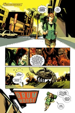 Batgirl issue 1 -page 3