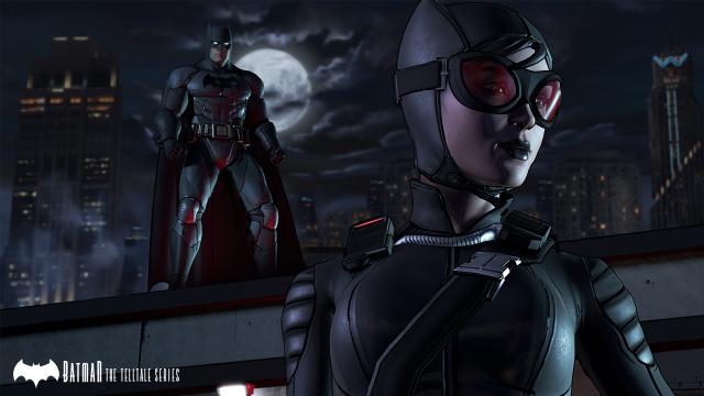 Batman The Telltale Series - Batman and Catwoman