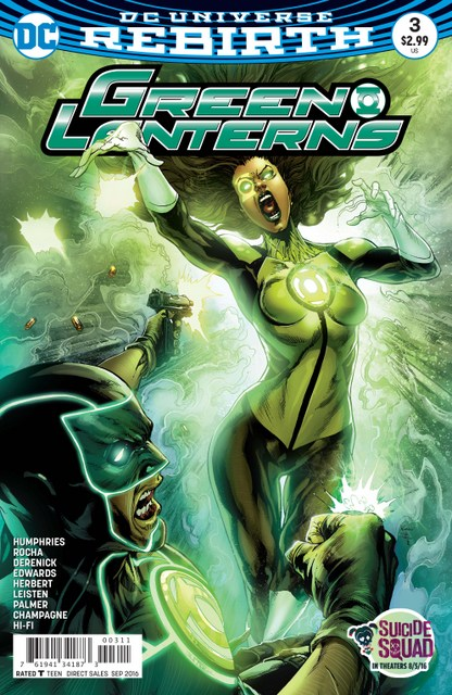Green Lanterns issue 3 cover