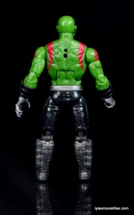 Guardians of the Galaxy Marvel Legends exclusive - Drax rear