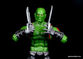 Guardians of the Galaxy Marvel Legends exclusive -Drax with blades
