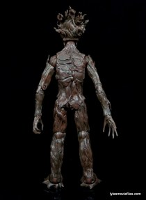 Guardians of the Galaxy Marvel Legends exclusive - Groot rear