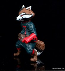 Guardians of the Galaxy Marvel Legends exclusive -Rocket left side