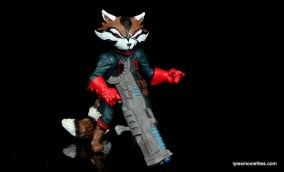 Guardians of the Galaxy Marvel Legends exclusive -Rocket with blaster