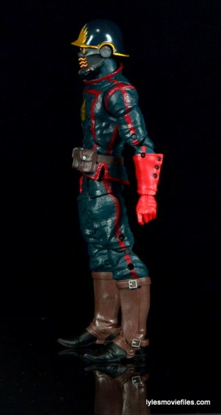 Guardians of the Galaxy Marvel Legends exclusive -Star-Lord left side