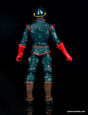 Guardians of the Galaxy Marvel Legends exclusive -Star-Lord rear