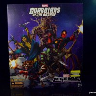 Guardians of the Galaxy Marvel Legends exclusive - package front