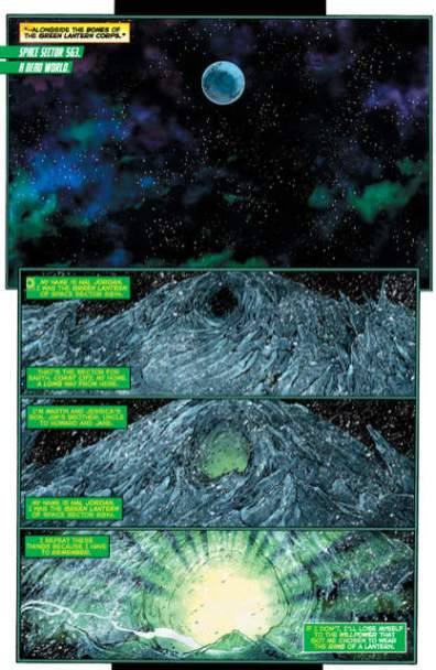 Hal Jordan and GLC Rebirth issue 1 review page_5