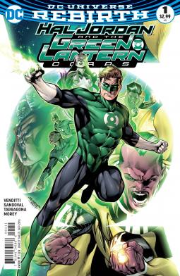 Hal Jordan and The GLC