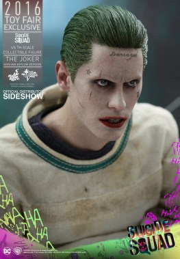Hot Toys The Joker Arkham Asylum version -right side face