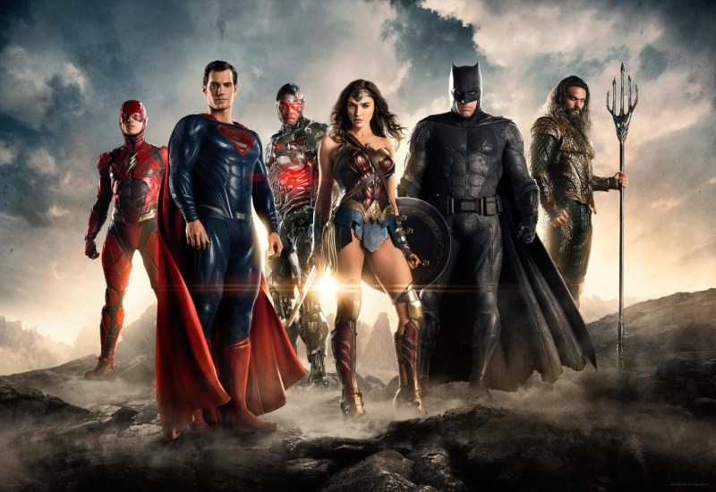 Justice League trailer movie not the seven