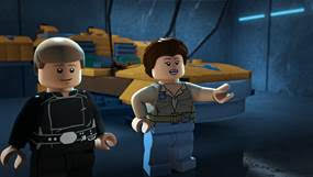 LEGO Star Wars The Freemaker Adventures - Luke and Leia