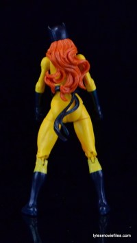Marvel Legends Hellcat figure review - rear