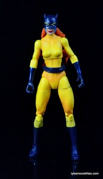 Marvel Legends Hellcat figure review - straight