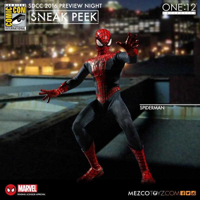 Mezco Toyz -SDCC-Preview-Night-One12 Spiderman