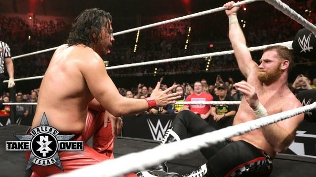 Shinsuke Nakamura vs Sami Zayn NXT TakeOver Dallas