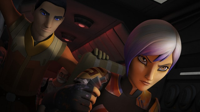 Star Wars Rebels Season 3 - Ezra, Sabine-min