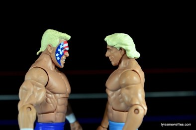 Sting Defining Moments figure review - facing off with Ric Flair