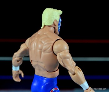 Sting Defining Moments figure review - rat tail close up
