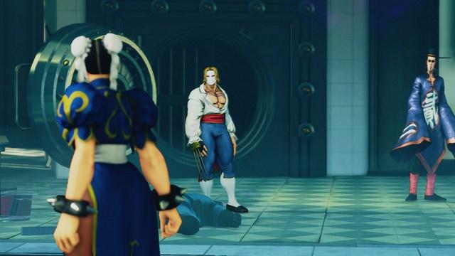 Street Fighter 5 - A Shadow Falls - Chun Li vs Vega and FANG