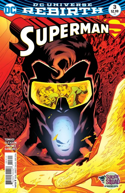 Superman issue 3 cover
