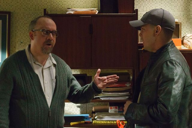 The Phenom movie review - Paul Giamatti and Johnny Simmons