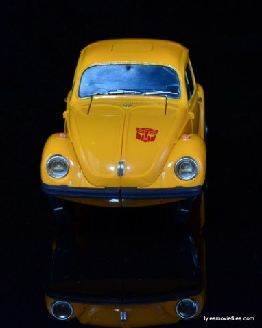 Transformers Masterpiece Bumblebee review -auto mode front