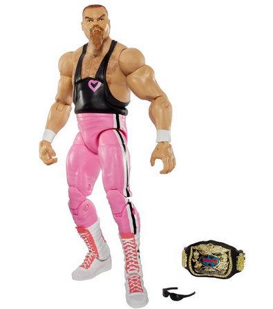 WWE Elite 43 Flashback Hart Foundation Jim Neidhart Figure